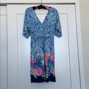 NWT Lilly Pulitzer patterned cotton dress, Small